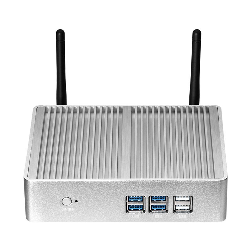 Fanless Mini PC Intel Core i3 5005U Windows 10 Linux 8 gb RAM 240 gb SSD HDMI VGA Mini PCI-E 300 mt WIFI Gigabit LAN Nettop HTPC