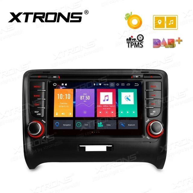 Android 8.0 Octa Core 7'' Radio Stereo GPS DVR OBD Car DVD Player for Audi TT MK2 8J 2006 2007 2008 2009 2010 2011 2012