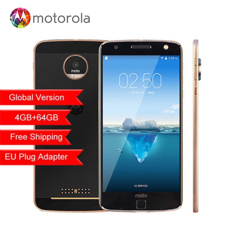 Original Motorola MOTO Z XT1650-05 Snapdragon 820 5.5 inch 2560X1440 2K 4GB RAM 64GB ROM 4G LTE Android 13.0MP camera phone