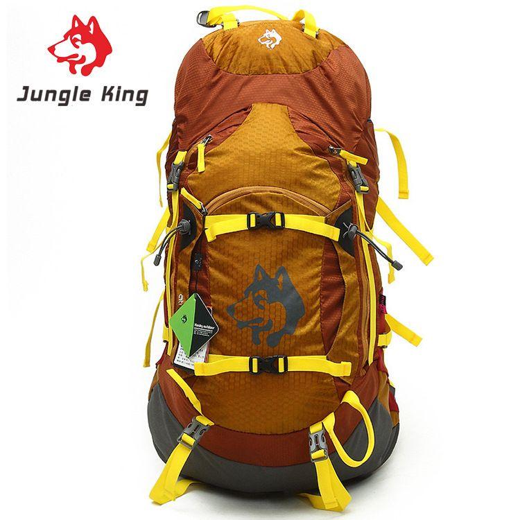 Jungle King Outdoor camping umhängetasche männer und frauen allgemein wanderrucksack 55L reise bergsteigenbeutel wasserdichte sport