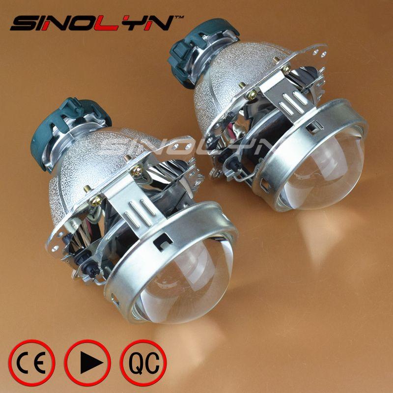 EVOX Bi-xenon Projector Lens Headlight Reflector for BMW E60 E61 E39/Ford C-Max S-Max/Audi A6 S6 A8 D3 S8 D4/Benz W211/B6/Skoda