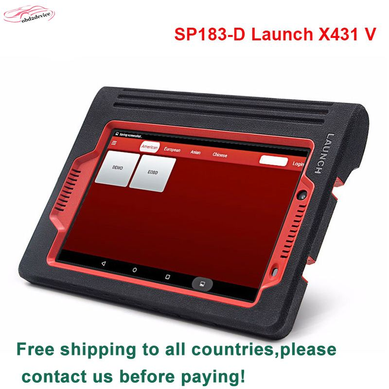2018 launch x431 v advanced comprehensive diagnostic multi-cars tool launch x-431 pro wifi/bluetooth replace diagun3 DHL free