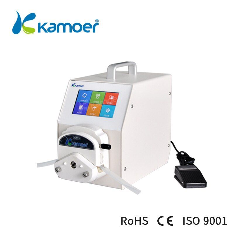 Kamoer  peristaltic pump small bottle filling machine