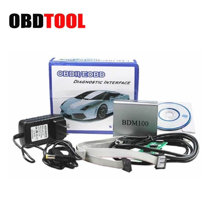 ObdTooL Car Ecu Programmer BDM100 V1255 Universal Chip Tunning Tool BDM 100 Flash Diagnostic Tool JC10