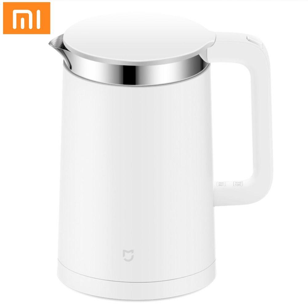 Mijia 1.5L Smart Elektrische Wasserkocher Schnelle Kochen Edelstahl Innere Isolierung Wasserkocher mit Smart Konstante Temperatur Control