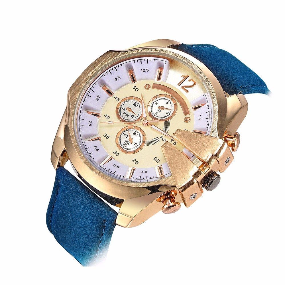 2016 marea personalidad masculina pulsera Relojes dial grande Relojes de cuarzo hombres reloj deportivo Militar reloj Relogio Masculino