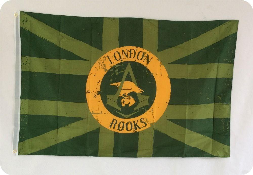 Londres coq grand drapeau Polyester bannière drapeau 80*120 cm livraison gratuite
