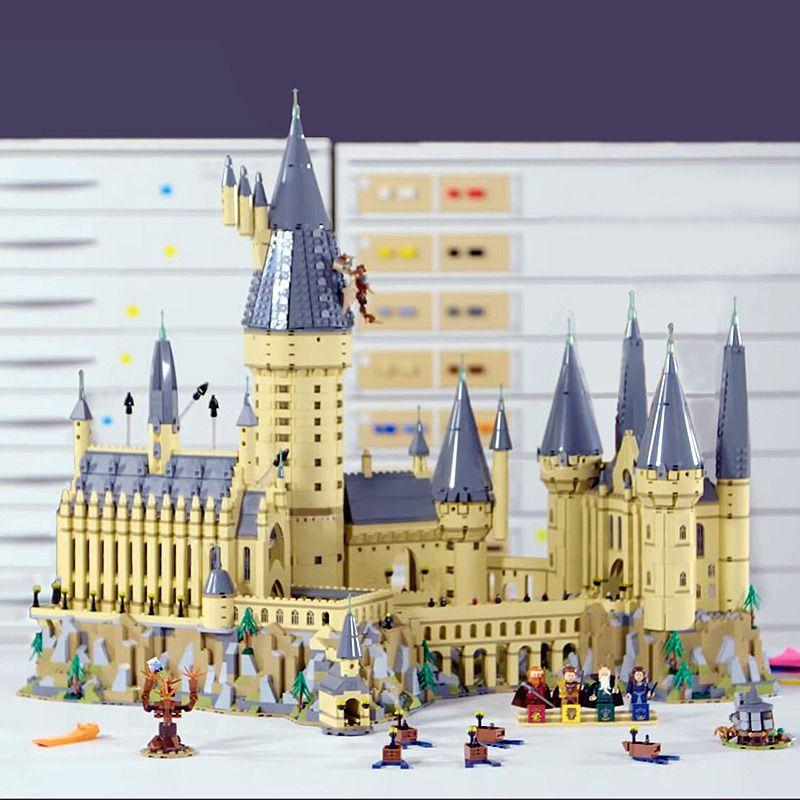 Lepin 16060 Compatible With Legoing 71043 6742pcs Harry Magic Potter Hogwarts Castle School Kit Building Blocks Bricks Toy Model