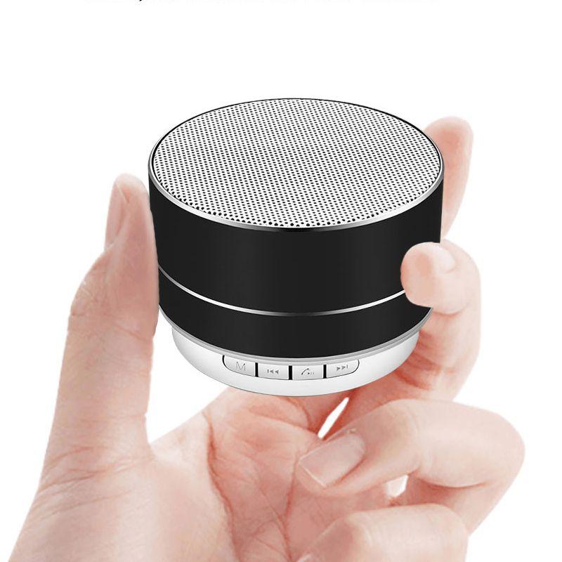 LIGE Neue wireless bluetooth lautsprecher metall mini tragbare subwoof sound mit Mic TF karte FM radio AUX MP3 musik spielen lautsprecher