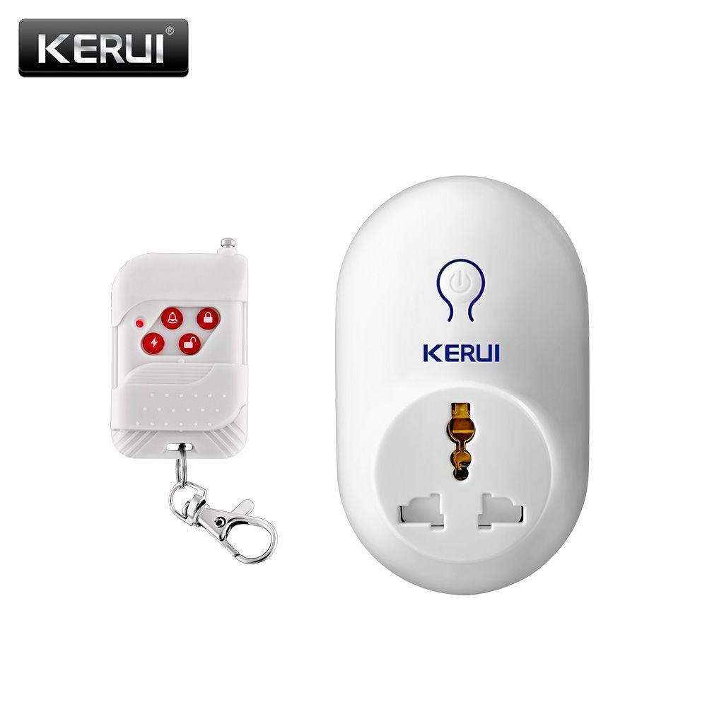 Kerui Smart Plug Enchufe 220 V UE AU REINO UNIDO EE.UU. Marca Toma de corriente de Control Remoto casa Inteligente