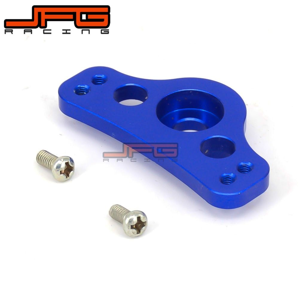 Billet Aluminum Hour Meter Mounting Braket For YZ85 YZ125 YZ250 YZ250F YZ450F WR250F WR450F Motocross Motorcycle Off Road