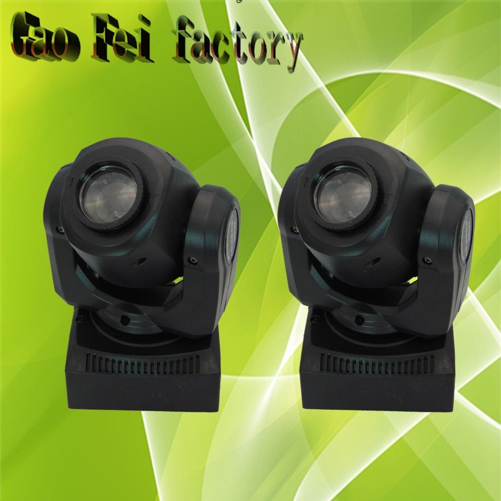 30w Mini Moving Head Led Stage Disco Dj Dmx Spot Lamp Gobo Strobe Laser Show Party Licht Soundlights Home ColorMusic Lumiere