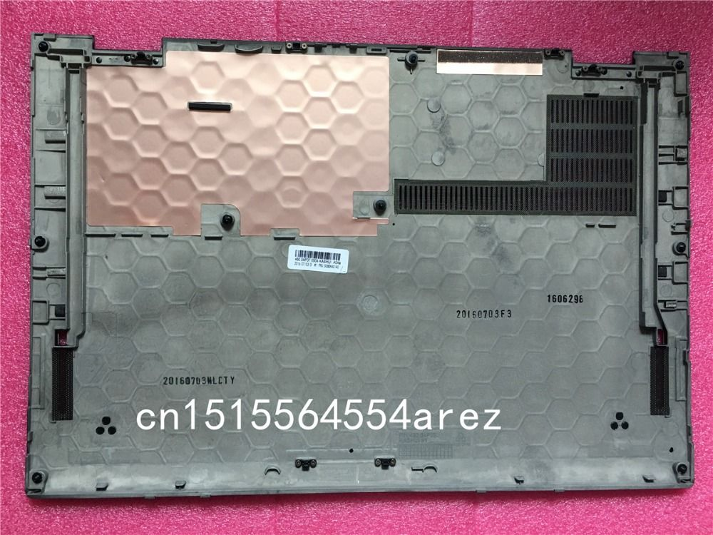 New Original laptop Lenovo ThinkPad X1 carbon 4th Base Cover case/The Bottom cover 460.04P07.0004 SCB0K40140