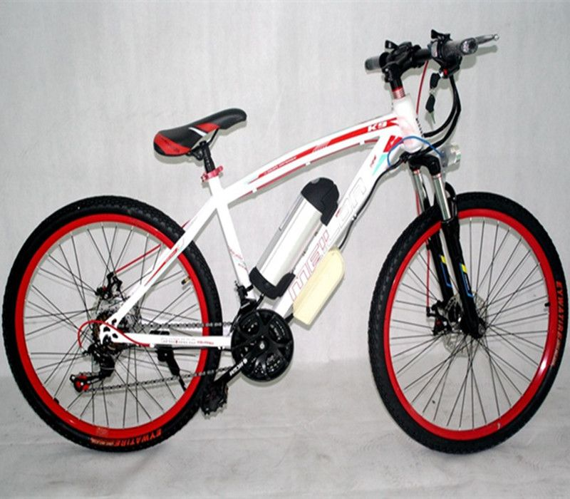 26 inch high carbon steel 21 speed disc brake electric mountain bike 36V lithium battery booster electric bicycle electric vehic