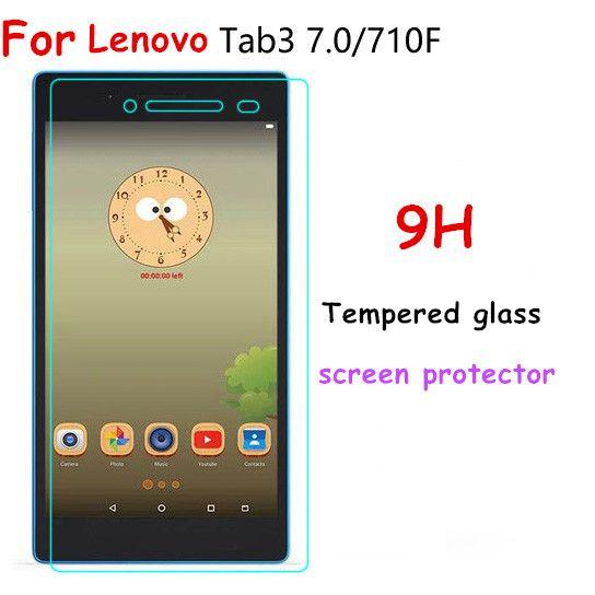 Für lenovo tab 3 7 ätherisches 710f 710i tab 3-710f 710F Premium-ausgeglichenes Glas-schirm-schutz Ultra thin HD Film MDFUNDAS