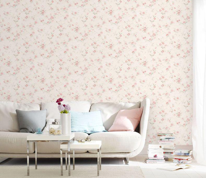 Пасторальный Стиль розовые цветы стены Бумага девушка Спальня Задний план цветок стены Бумага ребенок розовый завод 3D тиснением стены Бума...