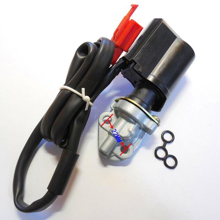 GY6-125/150CC Scooter Carb papillon électronique assemblage (a une base) ajouter concentré vanne Carb automatique starter électrique