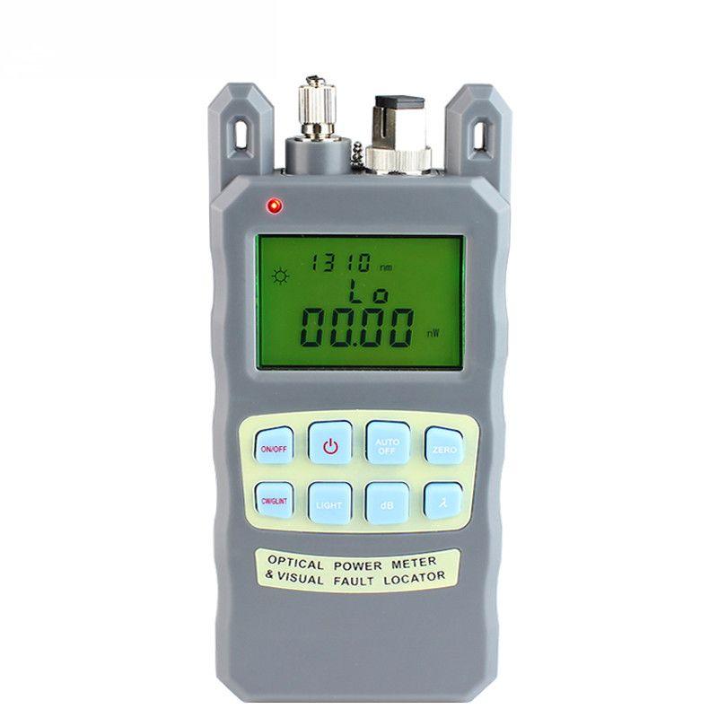 All-in-one Fiber optique power meter-70 à + 10dBm et 1 mw 5 km Fiber Optique Câble Tester Visual Fault Locator