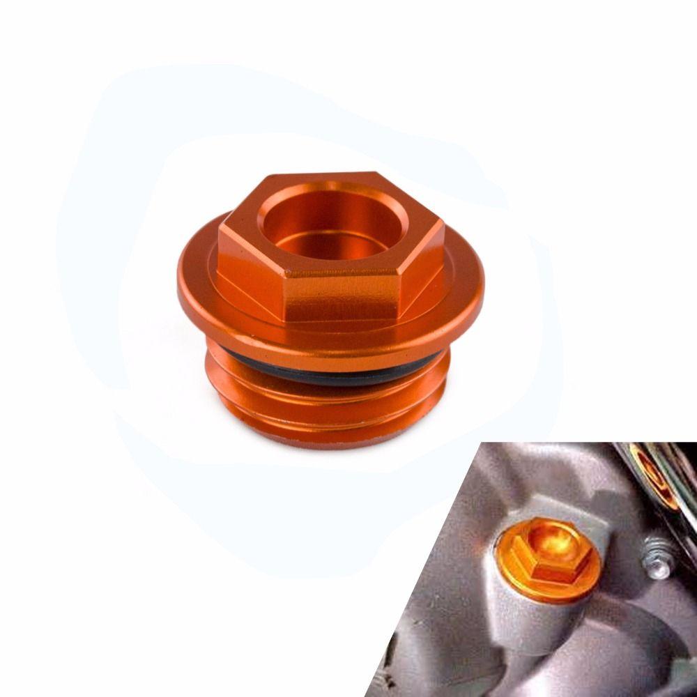 CNC Huile Bouchon Plug Pour KTM 640 660 690 1290 Duc Aventure Enduro SuperDuke SMC SMR SMT