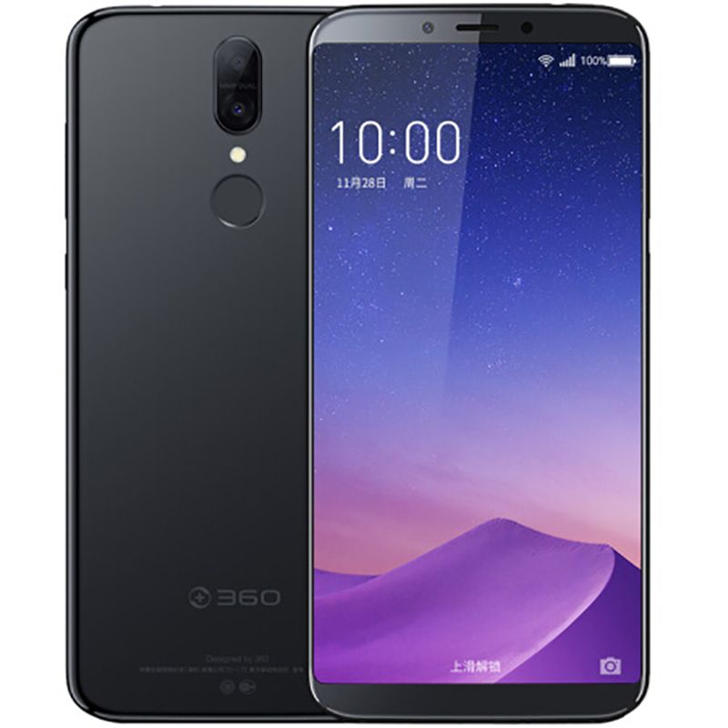 Original 360 N6 Pro 4GB RAM 64GB ROM Snapdragon 660 Octa Core 2.2GHz 5.99 inch Quick Charge 4G Dual Mobile Phone 16.0MP+2.0MP