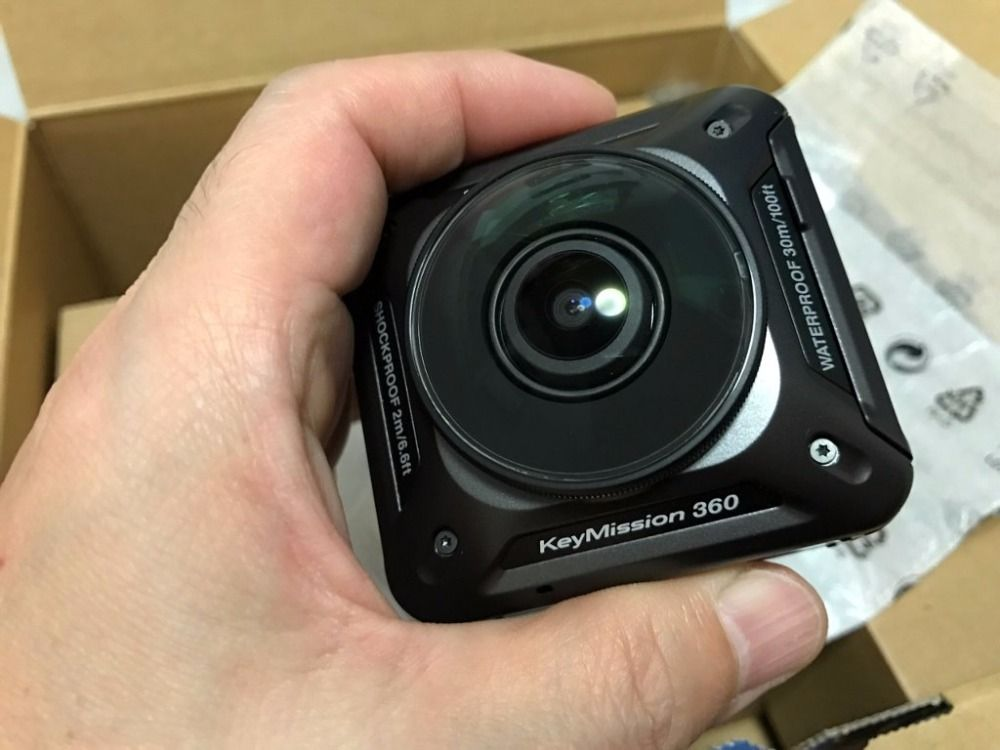 New Nikon KeyMission 360 4K Camera