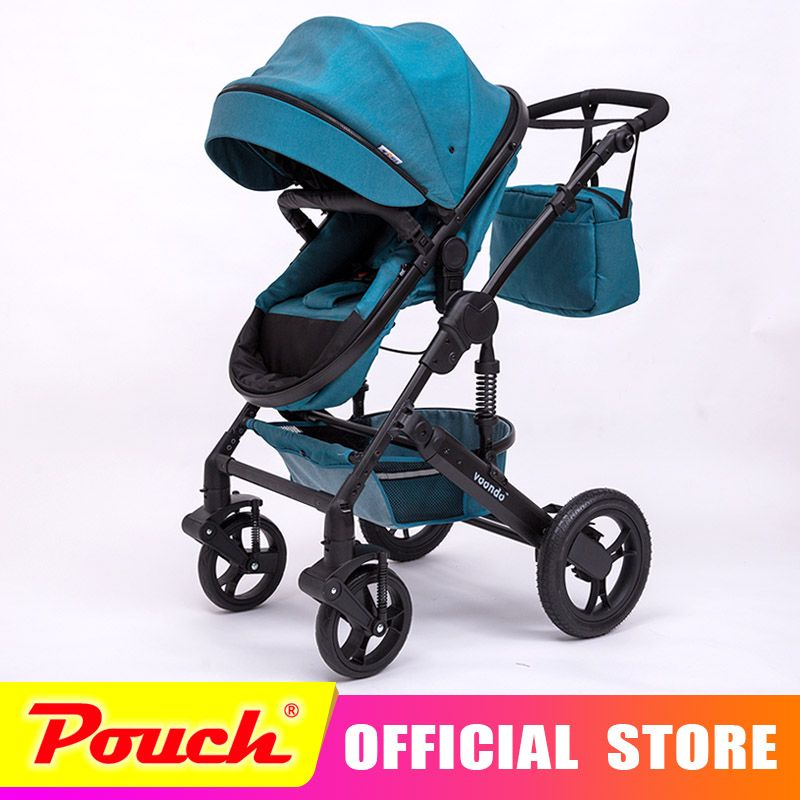 VOONDO baby stroller light folding umbrella car can sit can lie ultra-light portable on the airplane Suitable for winter in Russ