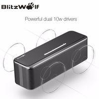 BlitzWolf мини беспроводной Bluetooth динамик портативный стерео Bluetooth динамик с микрофоном 20 Вт мобильный телефон динамик для iPhone