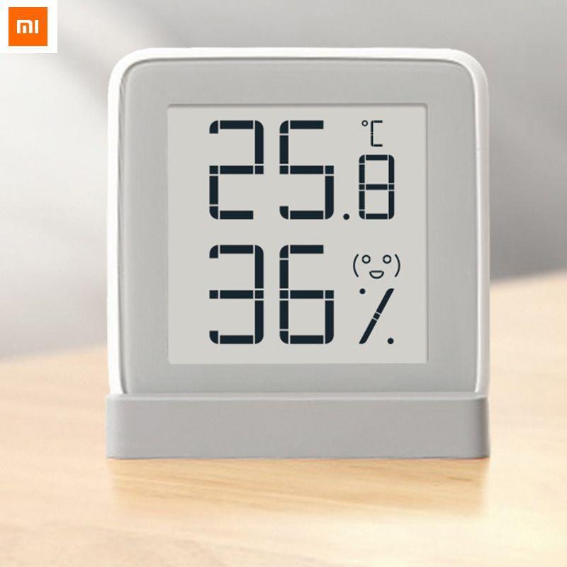 Xiaomi MiaoMiaoCe E-link TINTA Pantalla Sensor de Humedad de Temperatura Digital Medidor de Humedad Termómetro de Alta Precisión Pantalla LCD