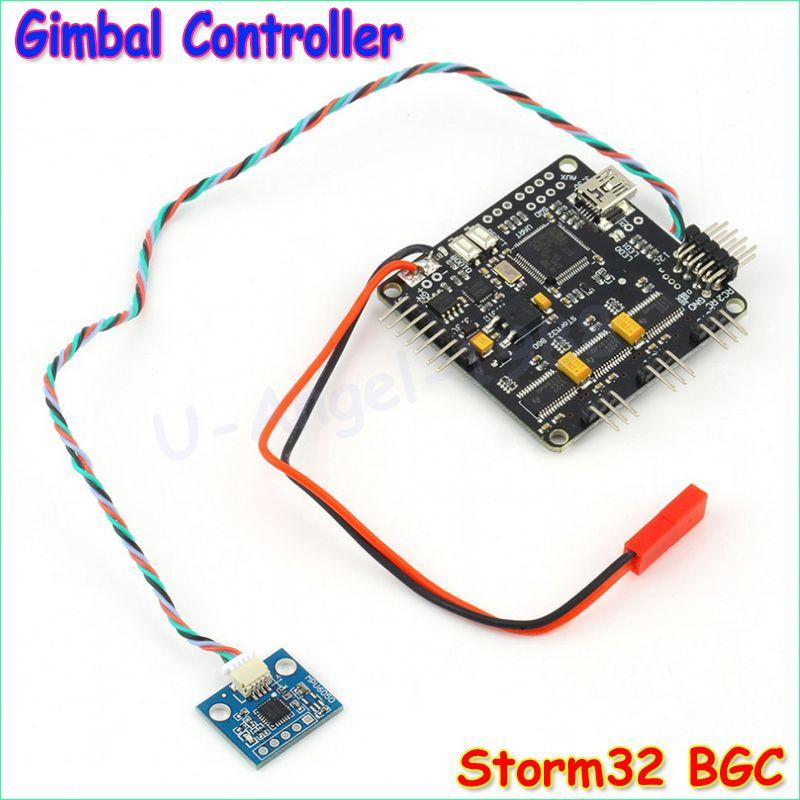 Wholesale 1pcs Storm32 BGC 32Bit 3-Axis Brushless Gimbal Controller V1.32 DRV8313 Motor Driver Drop free shipping