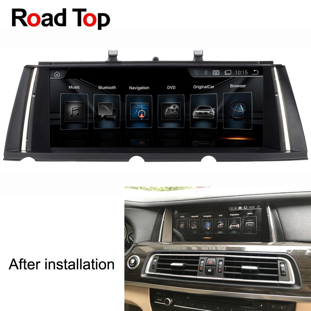 4 + 64G 1920*720 Auflösung 10,25 Android Auto Radio Bluetooth WiFi GPS Navigation Kopf Einheit Bildschirm für BMW F01 F02