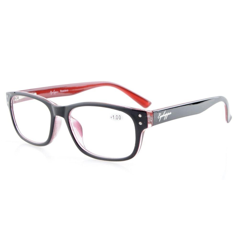 R094 lecteurs de lunettes qualité printemps-charnières rétro Rockers Deluxe lunettes de lecture + 0.50 --- + 4.00