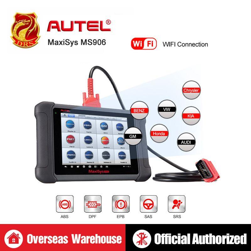 Autel MaxiSys MS906 OBD2 Diagnose Werkzeug ECU Codierung Alle System Automotive Werkzeuge OBD2 Scanner Professional Scan-Tool Code Reader