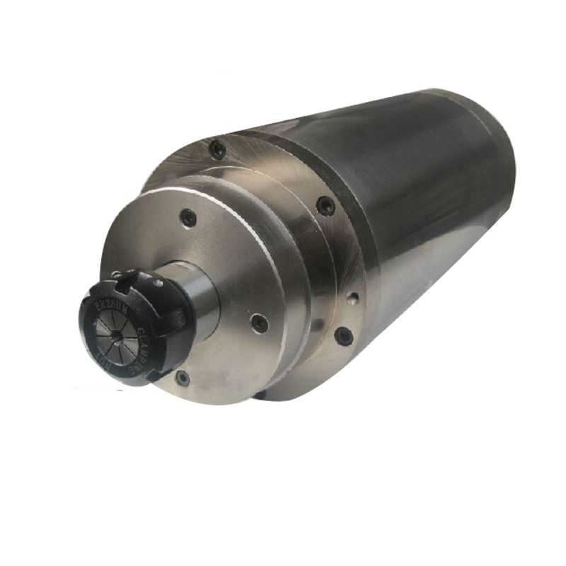 Good original CNC Router spindle motor 5.5KW 220V water-cooled D125mm,24000rpm spindle,cheap shipping cost EMS/DHL/FEDEX