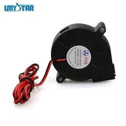 1 Pc LMYSTAR DC 12V 5015 Cooling Fan Hotend Extruder for RepRap 3D Printer Parts 50mm Blower Radial Cooling Fan