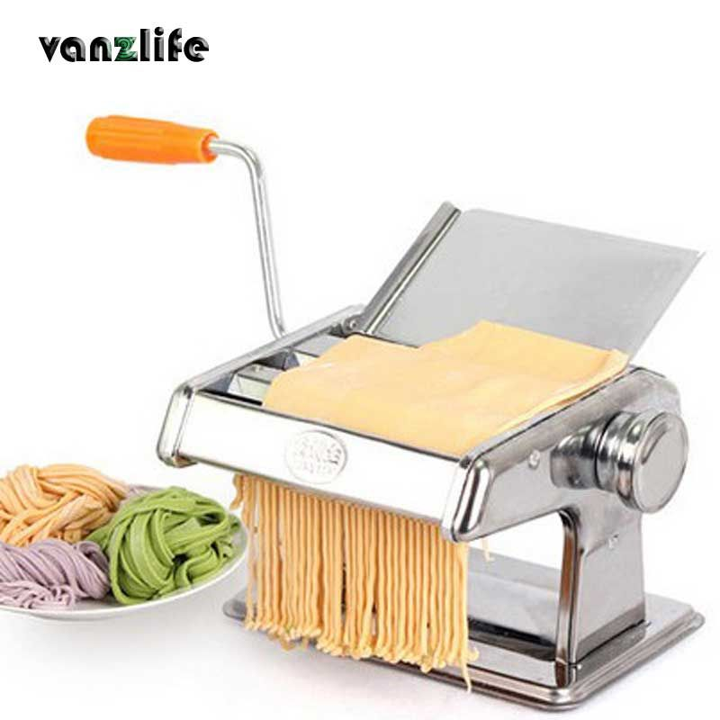 thick hand pressing stainless steel household manual noodle machine small multifunctional dough rolling dumpling machine