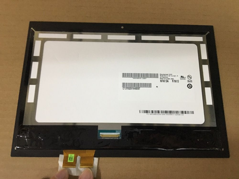 TV1WXM-NP1 B101EAN01.8 For HP Pavilion x2 10-n 10 n 01hd-l101wx03-07 11N 11-k050TU TPN-Q180 assembly LCD Touch screen