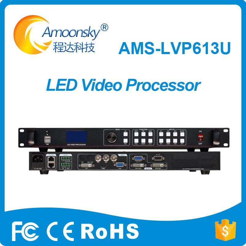 Ams lvp613u nahtlose switcher usb led video prozessor für p6 panel led zeichen modul