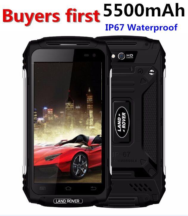 Land Rover X2 IP67 Waterproof Dustproof Smartphone 1280*720 5.0