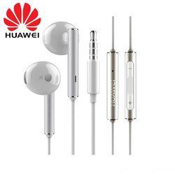 Véritable Original HUAWEI Honor Écouteurs En Métal Écouteur + Mic Contrôle Du Volume Pour P9 Lite P10 Plus Mate 7 8 9 5X 6X V9 SAMSUNG LG