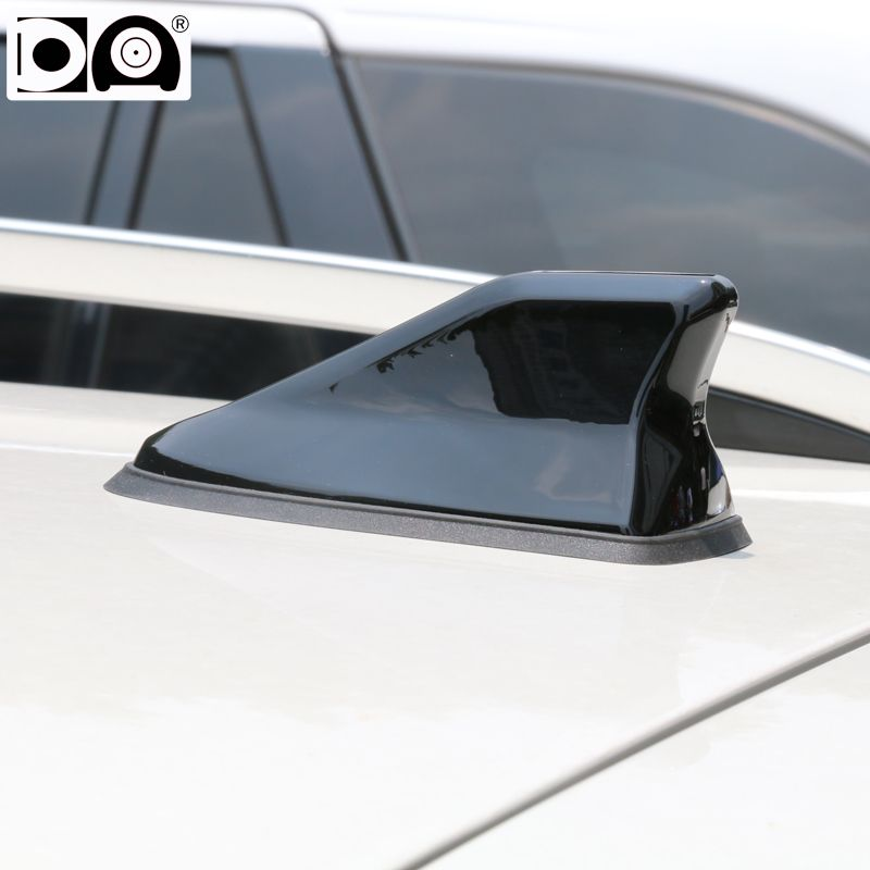 Waterproof <font><b>shark</b></font> fin antenna special auto car radio aerials Stronger signal Piano paint Suitable for most car models