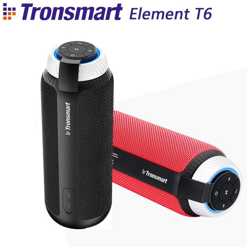 Tronsmart Élément T6 Bluetooth 4.1 Haut-Parleur Portable Sans Fil Soundbar Audio Récepteur Mini AUX Haut-parleurs pour IOS Android Xiaomi