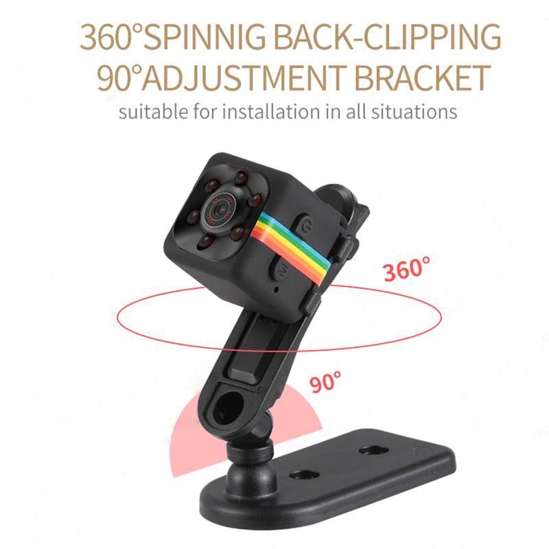 SQ11 Mini caméra 640*480 DV Micro caméra Sport voiture DVR Vision nocturne vidéo enregistreur vocal Mini Action Cam caméscope