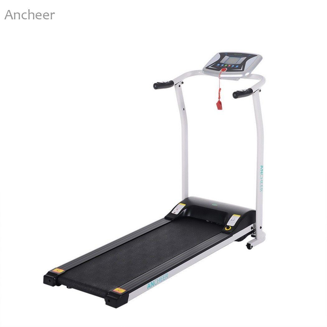 New Electric Treadmill Mini Folding Electric Running Training Fitness Treadmill Home EU US Plug sports fitness