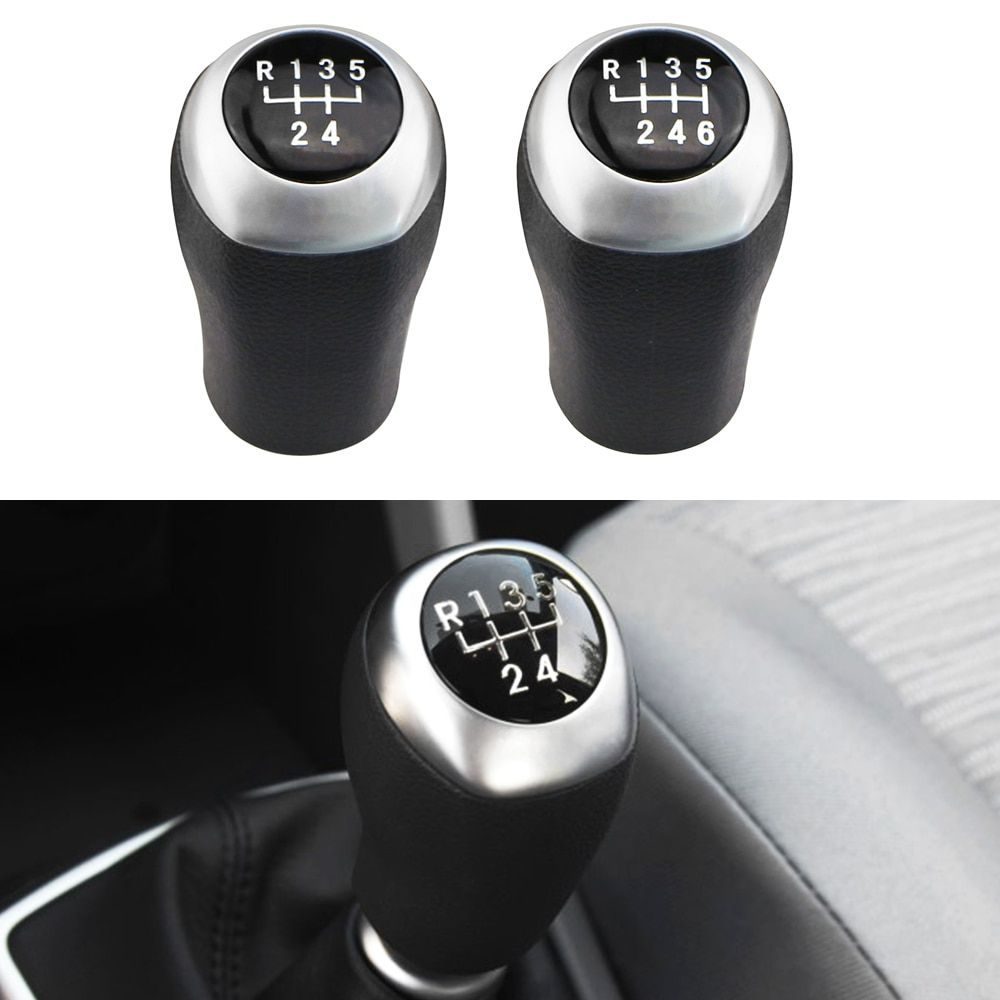 Jameo Auto 5 6 Speed Manual Stick Gear Head Shift Knob Lever Shifter for Hyundai Elantra GT Accent Solaris Avante MD I30 MT