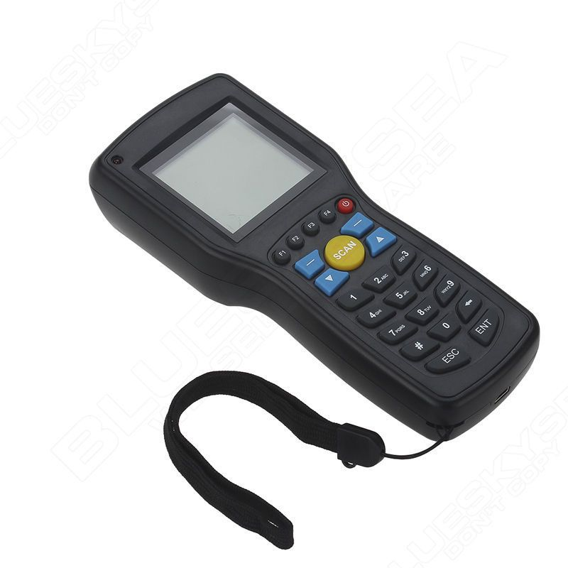 Original Heroje 1D EAN13 UPCA/E Wire wireless barcode scanner data Inventory collector Terminal