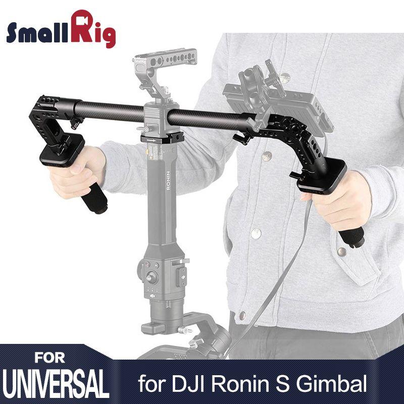SmallRig DSLR Camera Shooting Dual Handgrip for DJI Ronin S/Zhiyun Crane Series Handheld Gimbal Light Weight 2210