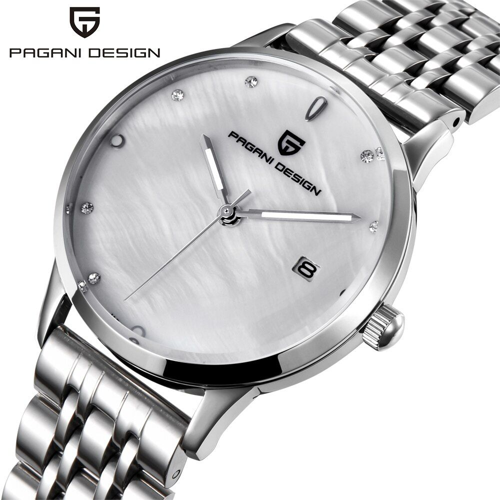Ladies Fashion Watch PAGANI DESIGN luxury brand temperament Women quartz watch all steel casual romantic Watch Montre Femme