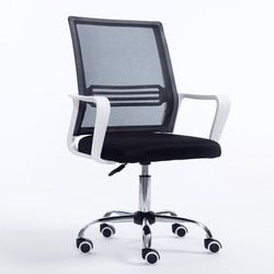 0120tb001 Oficina simple moderna giratoria silla giratoria dormitorio Oficina de Personal Telas tela silla del acoplamiento