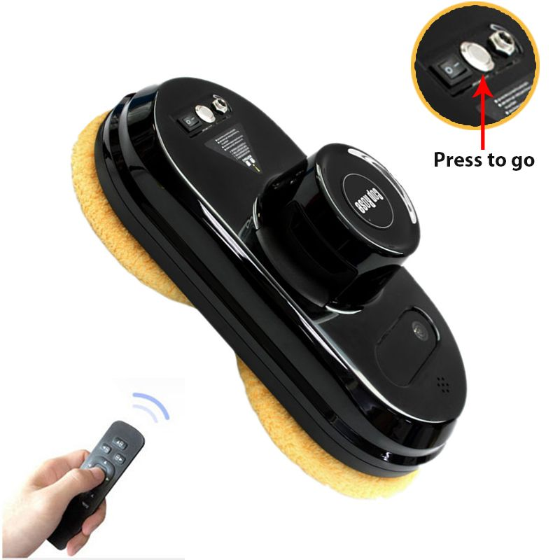 Seamoy Auto clean Anti-falling Smart Window Glass Cleaner Control Robot Vacuum Cleaner Free Shipping
