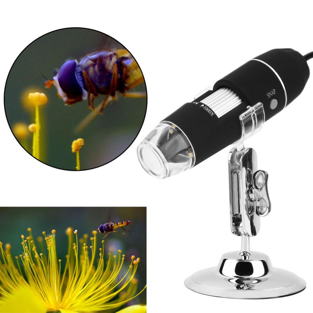 2017 Nouvelle Arrivée Mega Pixels 1000X8 LED USB Microscope Numérique Endoscope Caméra Microscopio Magnifier Z P4PM Worldwide Magasin